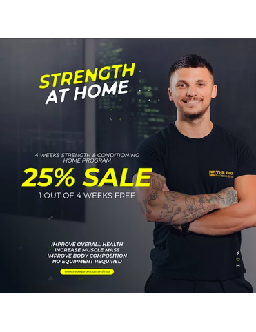 The Box: Strenght at home