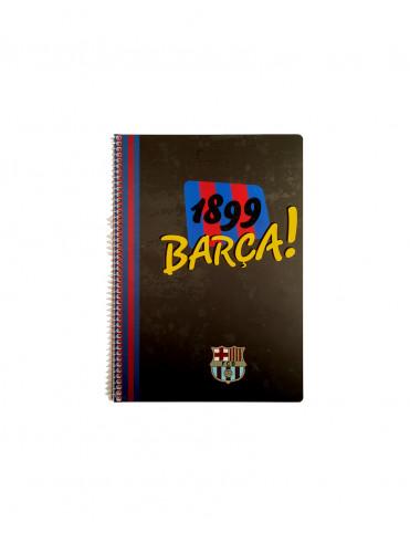 Set 4 Caiete A4 FC BARCELONA
