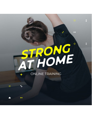 Strong at home - online zoom
